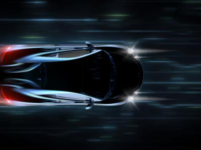 Zwarte wagen rijdt te snel en krijgt snelheidsboetes - IntoLaw