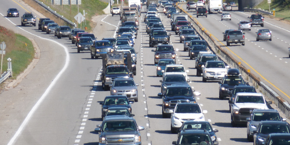 Hoe kan ik verkeersboetes voorkomen bij het ritsen?