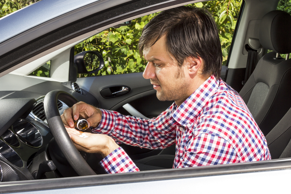 Riskeer ik een boete voor dronken rijden als ik rijd onder invloed van medicatie?