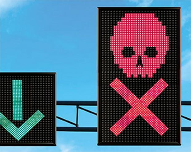 Wegen en Verkeer start campagne 'Een rode X negeren, is je leven riskeren'