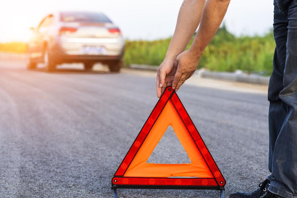 Wegen en Verkeer test kilometerpaaltjes in de rijrichting