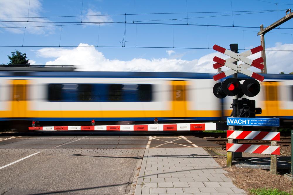 Minder ongevallen aan spooroverwegen in eerste helft 2015