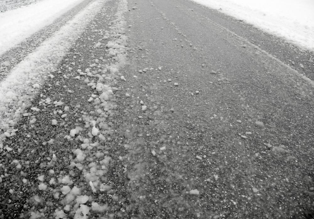 Winterweer - Dertigtal ongevallen met hinder door gladde wegen